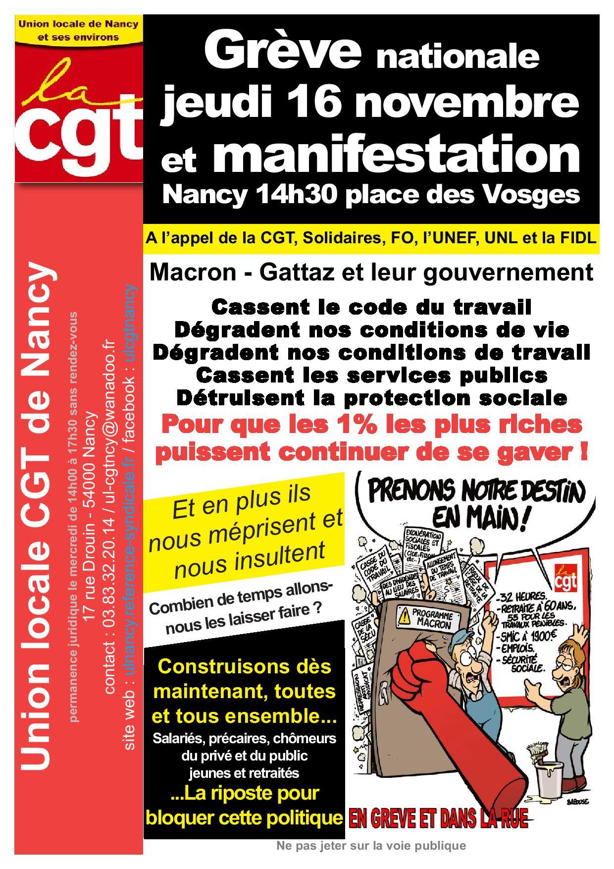 d8e21dbdcd Tract UL CGT Nancy pour le 16 novembre 2017-page-001 | Union Locale ...
